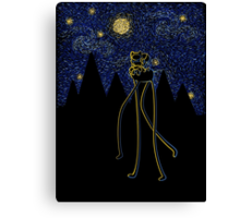 Starry Night Adventure Canvas Print