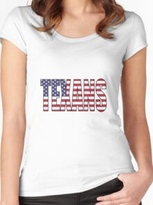 Texans Women's Fitted Scoop T-Shirt