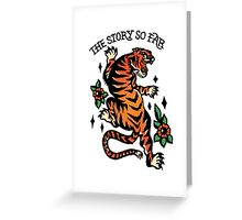 tssf tiger Greeting Card
