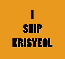 I ship KrisYeol by supalurve