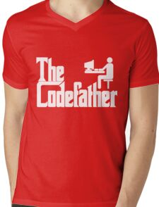 The Codefather Mens V-Neck T-Shirt