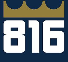 KC Royals: 816 by SkipHarvey