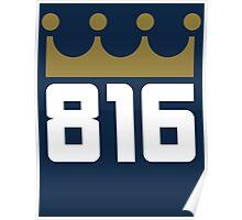 KC Royals: 816 Poster