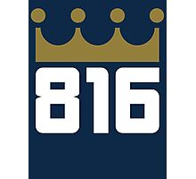 KC Royals: 816 Photographic Print