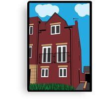 Townhouse Canvas Print