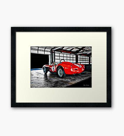 1958 Ferrari 250 GT Testa Rossa Framed Print