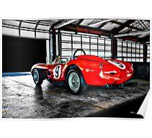 1958 Ferrari 250 GT Testa Rossa Poster