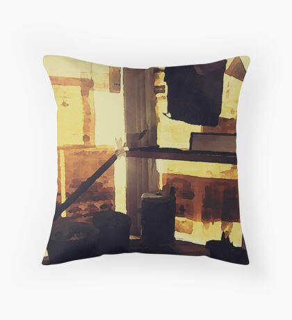 Artifacts Throw Pillow