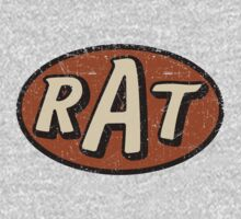 RAT - weathered/distressed Kids Tee
