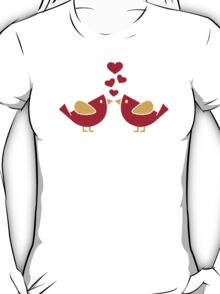 Birds love hearts T-Shirt