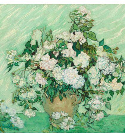 Vincent Van Gogh - Roses 1890 Sticker