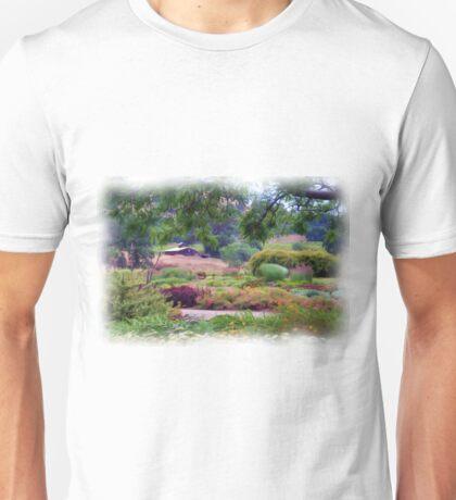 Barn in a Garden Unisex T-Shirt