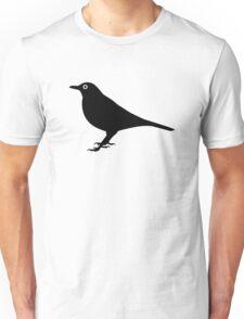 Blackbird bird Unisex T-Shirt