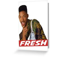 Fresh Prince Greeting Card