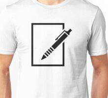 Pen paper Unisex T-Shirt