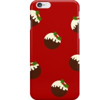 Christmas Pudding (version 3) iPhone Case/Skin