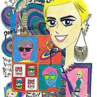 Edie Sedgwick - Andy's Superstar by maoshimizu