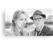 Eddie and Richie  Canvas Print