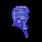 Sherlock typography (blue) by erndub