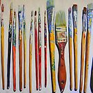 Riccoboni Artist Paint Brushes by RDRiccoboni