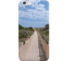Are We Nearly There? Conserving the sand-hills. Semaphore, Adelaide. iPhone Case/Skin