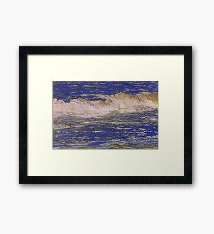 Atlantic Breaker Framed Print