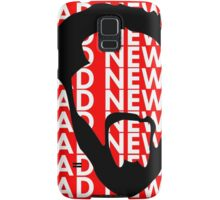 The Face of Bad News Samsung Galaxy Case/Skin