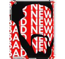 The Face of Bad News iPad Case/Skin