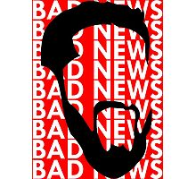 The Face of Bad News Photographic Print