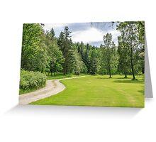 Balmoral Castle Grounds, Cairngorms National Park, Scotland Greeting Card