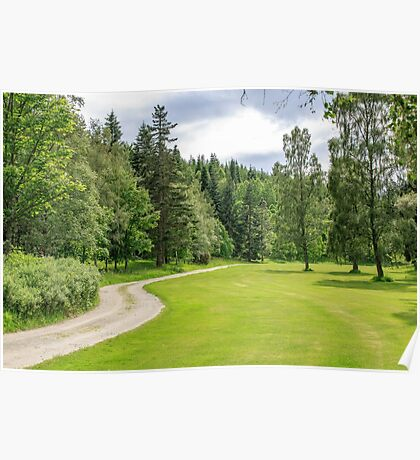 Balmoral Castle Grounds, Cairngorms National Park, Scotland Poster