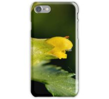 Yellow Rattle iPhone Case/Skin