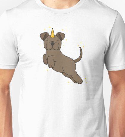 Chocolate Unidog Unisex T-Shirt