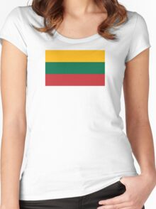 Lithuania - Standard Women's Fitted Scoop T-Shirt