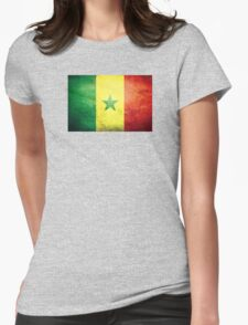 Senegal - Vintage Womens Fitted T-Shirt