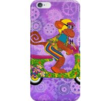 Vespa Monkey Business iPhone Case/Skin