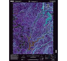 USGS TOPO Map California CA Chicago Park 100011 2000 24000 geo Inverted Photographic Print