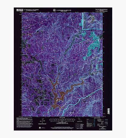 USGS TOPO Map California CA Chicago Park 100011 2000 24000 geo Inverted Photographic Print