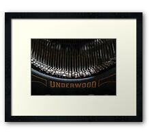 All The Words In All The Books Framed Print
