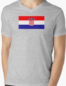 Croatia - Standard Mens V-Neck T-Shirt