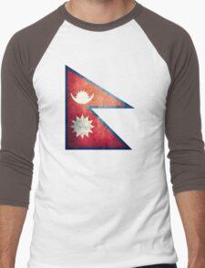Nepal - Vintage Men's Baseball ¾ T-Shirt