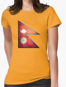 Nepal - Vintage Womens Fitted T-Shirt