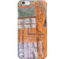 orangeblue iPhone Case/Skin