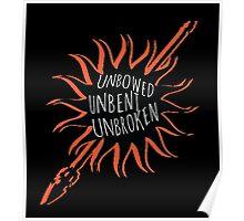 Unbowed, Unbent, Unbroken Poster