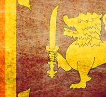 Sri Lanka - Vintage Sticker