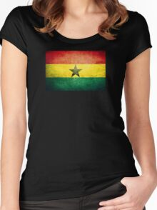 Ghana - Vintage Women's Fitted Scoop T-Shirt
