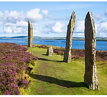 Brodgar, Orkneys Photographic Print