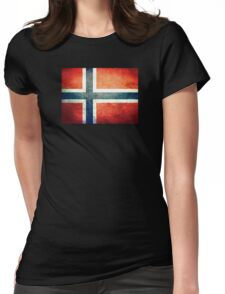 Norway - Vintage Womens Fitted T-Shirt