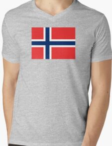 Norway - Standard Mens V-Neck T-Shirt