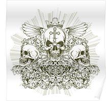 Royal Skulls Poster